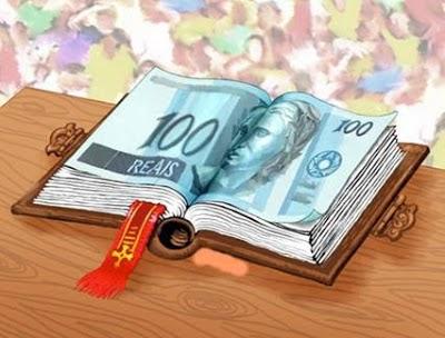 """O evangelho da """"grana""""; o deus dinheiro"""